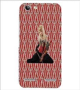 PrintDhaba Violin Girl D-3015 Back Case Cover for LENOVO VIBE K5 PLUS (Multi-Coloured)