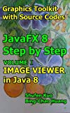 IMAGE VIEWER in Java 8: JavaFX 8 Tutorial (Coding in JavaFX Step by Step Build Graphics Toolkit Book 1) (English Edition)