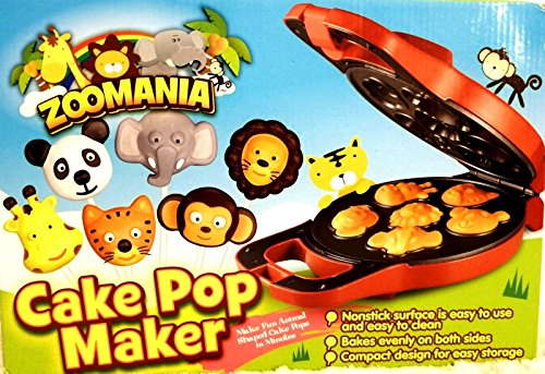 New Shop New Factory Sealed!! Zoomania Cake Pop Maker - Make Animal Cake Pops At Home