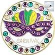 Bella Crystal Golf Ball Marker & Hat Clip - Carnival
