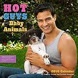Hot men and Baby Animals 2016 Wall Calendar