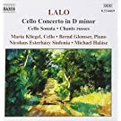 Lalo: Cello Concerto.cello Son