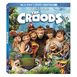 The Croods (Blu-ray / DVD + Digital Copy)