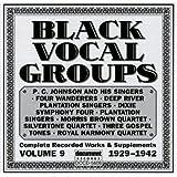Black Vocal Groups Vol. 9 (1929-1942)