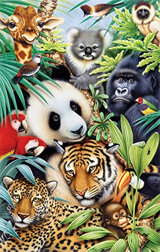 Animal Magic a 100-Piece Jigsaw Puzzle by Sunsout Inc.