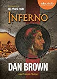 Inferno: Livre audio - 2 CD MP3 - 668 Mo + 658 Mo