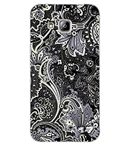 ColourCraft Beautiful Pattern Design Back Case Cover for SAMSUNG GALAXY J3