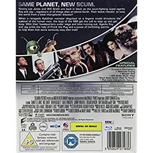 Men in Black II [Blu-ray] [Import anglais]