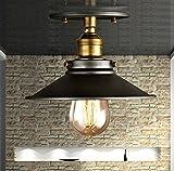 PinWei_ rustikale Decke Lampe kreative Bar Terrasse Eisentreppe Decke Hallenlampe , 220mm _PinWei