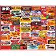 Candy Wrappers Favorites Collage 1000 piece jigsaw puzzle 24&quot; x 30&quot;