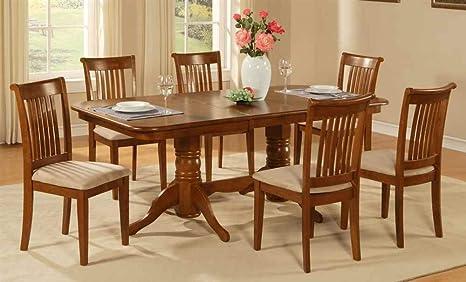 7-Pc Rectangular Traditional Dining Set