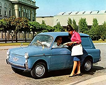 Amazon.com: 1960 Fiat 500 Autobianchi Bianchina Van Factory Photo: Entertainment Collectibles
