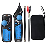 Cable Tester, ELEGIANT Wire Tracker RJ11 RJ45 Multifunction Wire Tracker Line Finder for Network Cable Collation, Telephone Line Test, Continuity Checking (Color: blue)