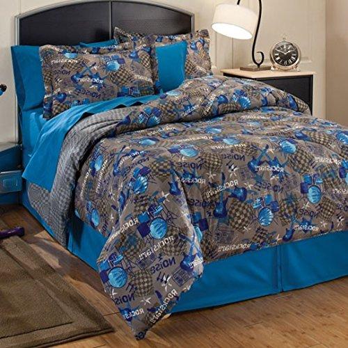 music bedding sets. Black Bedroom Furniture Sets. Home Design Ideas