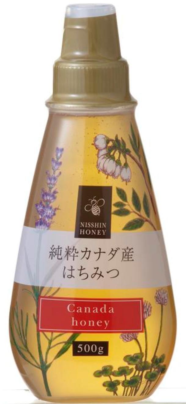 日新蜂蜜 純粋カナダ産 はちみつ 500g
