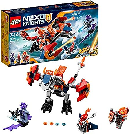 LEGO - 70361 - Nexo Knights - Jeu de Construction - Le dragon-robot de Macy