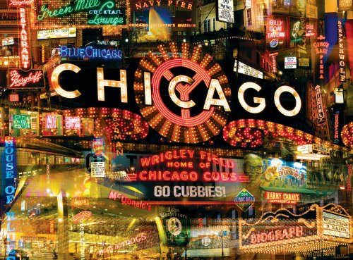 Buffalo Games City Collages, Sweet Home Chicago - 1000pc Jigsaw Puzzle