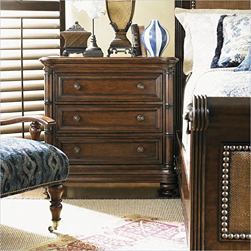 Tommy Bahama Home Landara Islandia Nightstand In Rich Tobacco front-328460