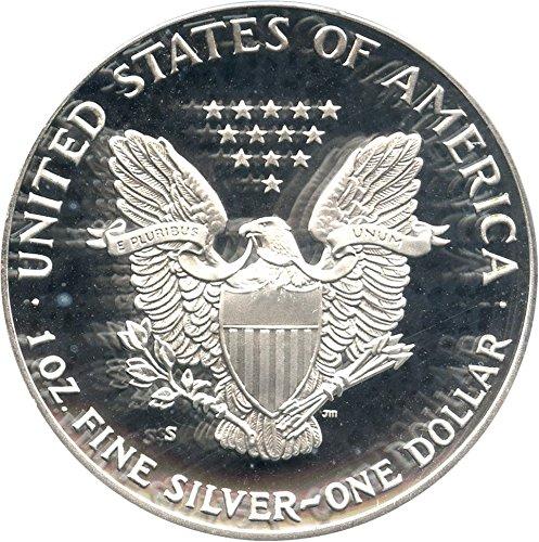 1992 S $1 American Eagles - Silver Silver Eagle Dollar PR70 PCGS DCAM