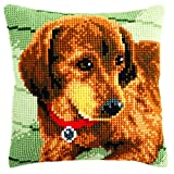 Vervaco Cross Stitch Cushion Dachshund