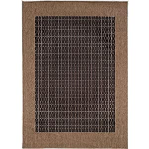 Amazon Recife Checkered Field Indoor Outdoor Rug