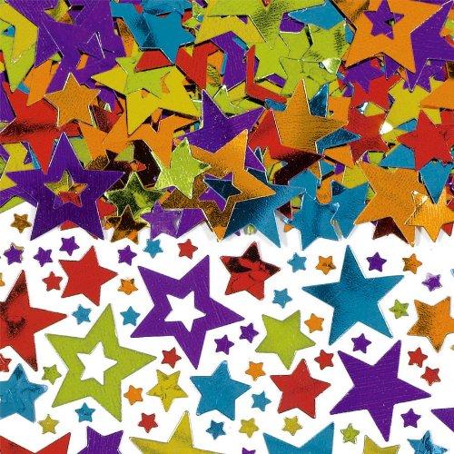 Amscan Stars Party Confetti Pack, 5 oz, Multicolor
