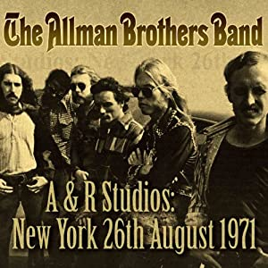 A & R Studios :New York 26th August 1971