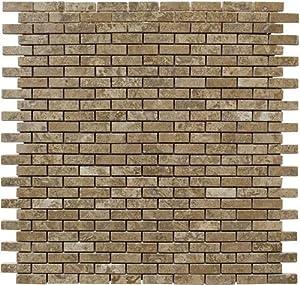 travertine tile mosaic natural stone flooring wall