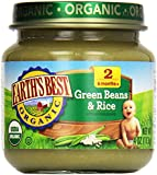 Earth's Best, Green Beans and Rice, 4 oz