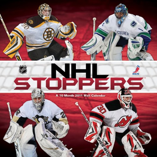 Sale alerts for Poster Revolution NHL Stoppers 16-Month Sports Wall Calendar 2011 - 12x12 - Covvet