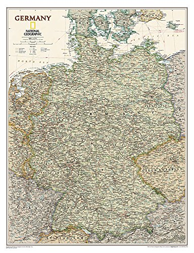 Germany (National Geographic Reference Map)