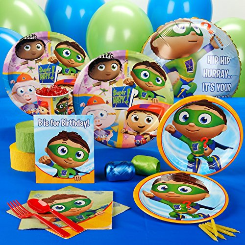 Super Why! Standard Party Pack for 16