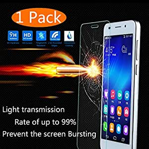 iPhone 5s Screen Protector, KingAcc(TM) iPhone 5 5s 5c Tempered Glass Screen Protector Film With 9H Hardness Bubble Free Anti-Scratch for Apple iPhone 5s iPhone 5 5c