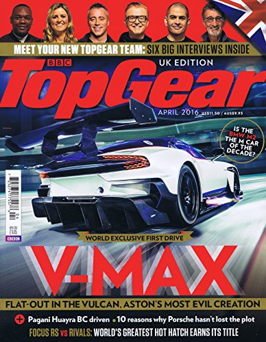 BBC Top Gear [UK] April 2016 (単号)