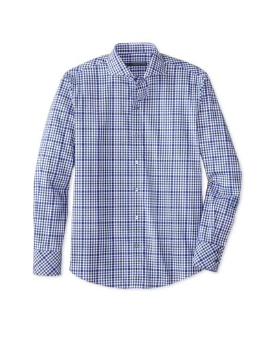 Zachary Prell Men's Quentin Checked Long Sleeve Shirt
