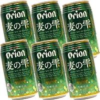 オリオン 麦の雫 350ml缶×6本セット