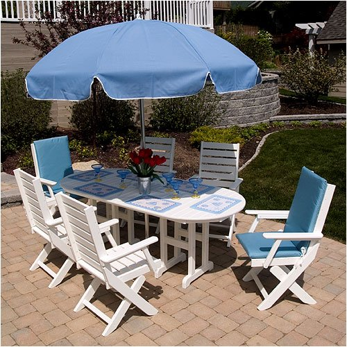 Captain 4 Seat Dining Set