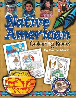 Native American Heritage Coloring Book