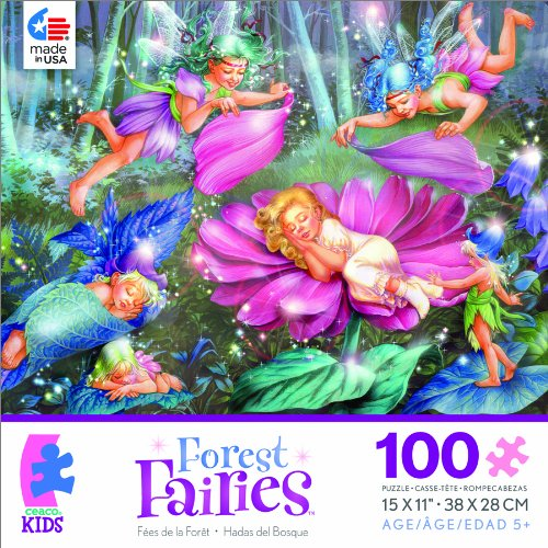 Forest Fairies Evening Fairies Jigsaw Puzzle