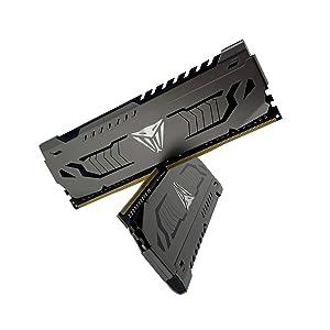 Viper Steel Series DDR4 16GB (2 x 8GB) 4400MHz Performance Memory Kit - PVS416G440C9K (Tamaño: 4400MHz 16GB Kit (2x8GB))
