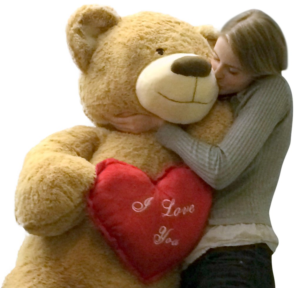 Giant Teddy Bear for Valentine's Day