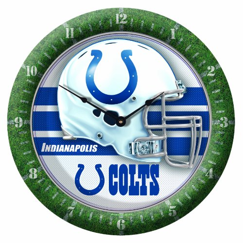 NFL Indianapolis Colts Game Time Clock
