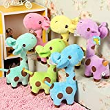 Richy Toys Giraffe 1Pc Animal Soft Toy Kids Birthday Gift Stuffed Soft Plush Toy Love 25 Cm (Assorted Color)