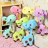 Richy Toys Giraffe 1Pc Animal Soft Toy Kids Birthday Gift Stuffed Soft Plush Toy Love 25 Cm (Assorted Color)