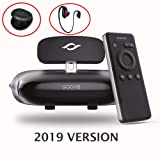 GOOVIS G2 Cinego Personal Travel Theater VR Glasses with Sony M-OLED 1920x1080x2 HD Giant Screen and Bluetooth Noise Cancellation Headphones