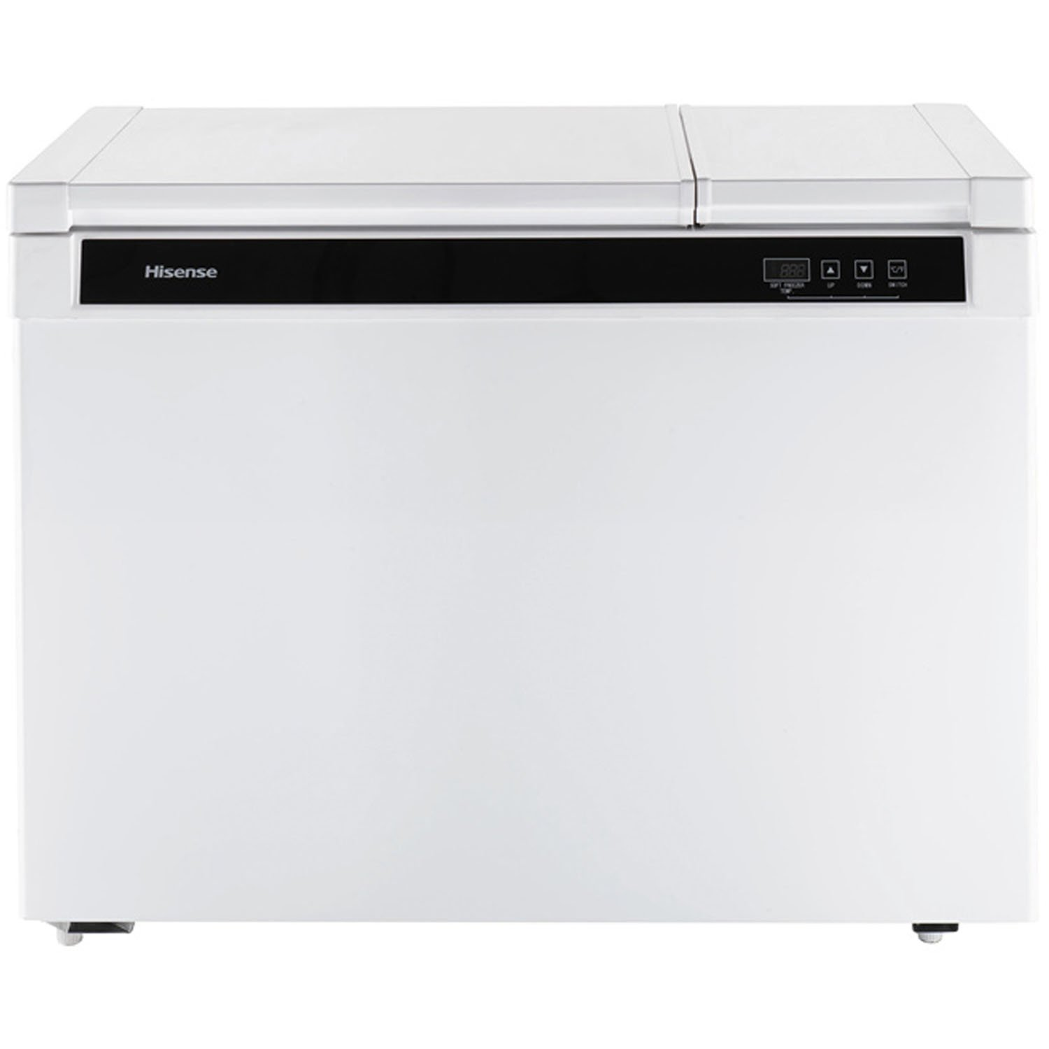 Hisense FD90D6AWD Dual Zone Chest Freezer, 9 cu. ft., White