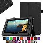 Verizon Ellipsis 7 Case - Fintie Slim Fit Premium Vegan Leather Cover for Verizon Ellipsis 7 4G LTE Tablet, Black