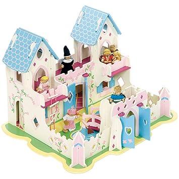Bigjigs Toys Boîte de jeu patrimoine le palais de la princesse
