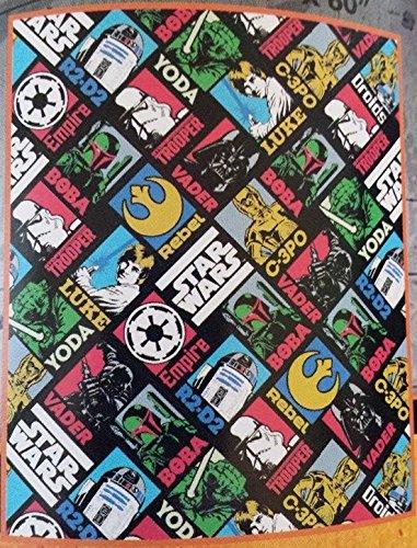 Star Wars Blanket with Vintage Pictures