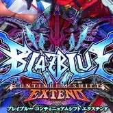 BLAZBLUE CONTINUUM SHIFT EXTEND 特典 オリジナルサウンドトラックCD付き